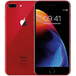 "Apple iPhone 8 Plus SIM única 4G 64GB Rojo - Smartphone (14 cm (5.5""), 64 GB, 12 MP, iOS, 11, Rojo)"