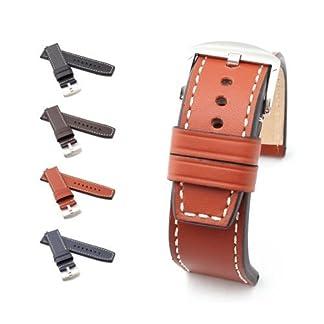 BOB-XL-Herren-Marino-Kalb-Uhrenarmband-Modell-Firenze-24-mm