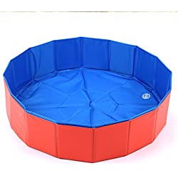 HooPet® Plegable admiten piscina portátil para mascotas Piscina 80cm * 20cm
