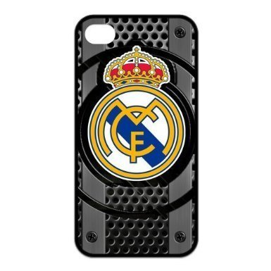 Football Club Real Madrid FC Logo Water Proof iPhone 4 / 4S Silicone Case