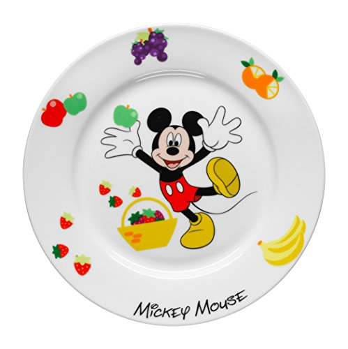 WMF Kindergeschirr Teller DISNEY MICKEY MOUSE Kinderteller Porzellan spülmaschinengeeignet farb- und lebensmittelecht