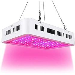 1000W LED Lámpara de Ia Planta de Espectro Completo Crece Ia Luz de la Planta Grow Light Ligera Para Plantas de Interior Verdura Flores