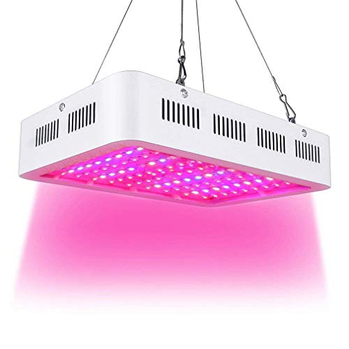 Esbaybulbs 1000W LED Pflanzenlampe Vollspektrum Pflanzenlicht LED Grow Lampe für Gewächshaus Pflanze, Zimmerpflanzen, Gemüse, Blumen, Obst -