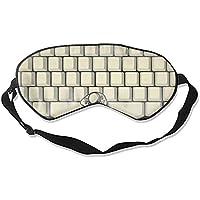 Schlafende Augenmaske, der trinkende Mann auf der Tastatur, Augenmaske, Augenbinde, für Damen und Herren preisvergleich bei billige-tabletten.eu