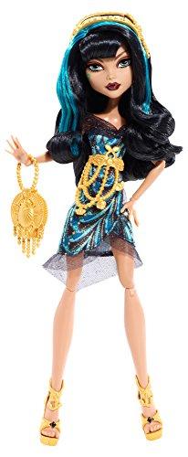 Mattel Monster High BDF25 - Licht aus Grusel an Cleo, Puppe (Monster Vampir-königin High)
