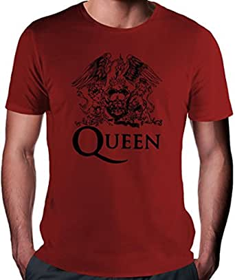 Queen Black Logo T-Shirt Herren - XX-Large