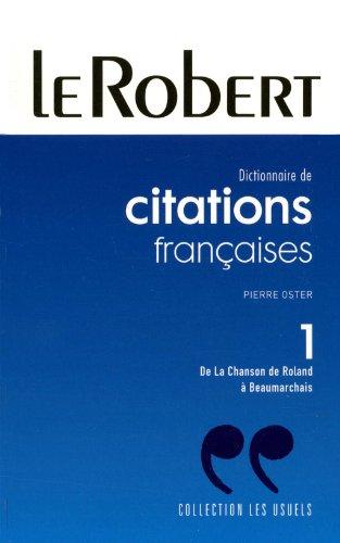 CITATIONS FRANCAISES POCHE T1