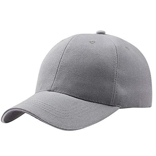 LUGOW Baseball Caps Damen HipHop Sonnenhüte Hut Baumwolle Sonnenhut Einstellbar Mützen Snapback Hüte Classic Sonnenblende Hut Visoren Fischerhüte