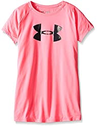 Under Armour Solid Big Logo T-Shirt manches courtes Fille