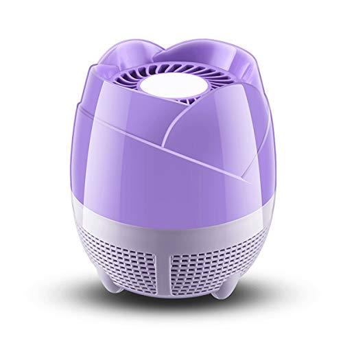 Yonimu Lampe de Tueur à Insectes alimenté par USB en Forme de Fleur, Lumières de Tueur à moustiques électronique, Protection de Lampe Anti-Moustique UV-Tox Non-Toxique, Super Silencieux