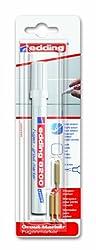 edding 4-8200-1-4049 Spezialmarker, 8200 Fugenmarker DIY Spezialmarker, 2-4 mm, weiß