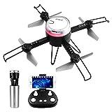 HELIFAR Drone avec Caméra Pliable L6062 Quadcopter avec Télécommande...