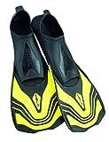 Seac Unisex- Erwachsene Vela Kurze Flossen zum Schwimmen im Schwimmbecken oder im Meer, gelb,...