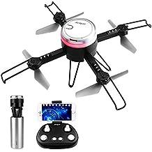 HELIFAR L6062 Drone con Telecamera, Mini Drone con WiFi FPV HD 720P App, Pieghevole RC Come IP Camera, Headless Modo e Altitude Hold Ideale Regalo per Bambini e Adulti