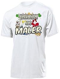 Karnevalskostüm - Faschingskostüm - VERKLEIDET ALS MALER T-Shirt Herren S-XXL