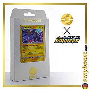 Ampharos 78/214 Holo - #myboost X Sonne & Mond 8 Echo Des Donners - Box de 10 Cartas Pokémon Alemán