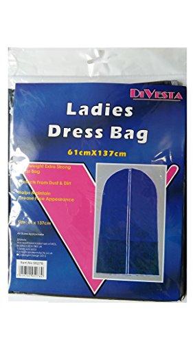 Damen Kleid Herren Anzug Aufbewahrungstasche Leicht ideal für Reisen 61cm x 137cm (Aufbewahrungstasche Kleid)