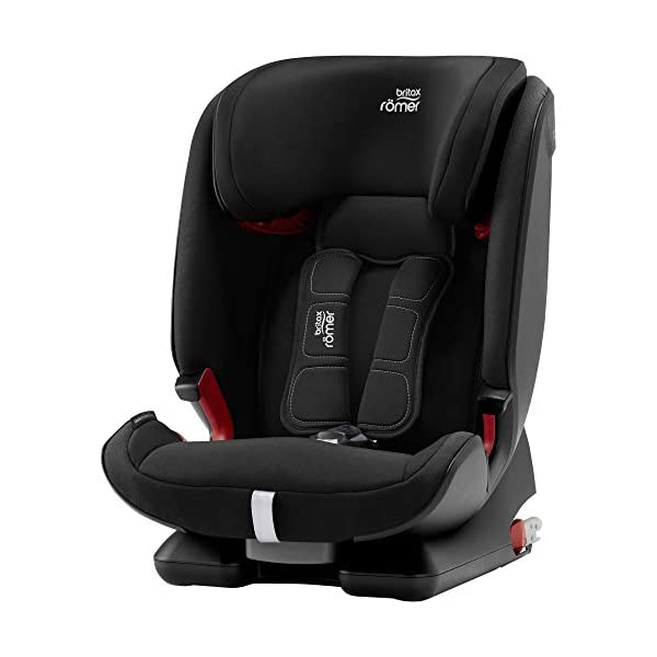 Britax Römer car seat 9-36 kg, ADVANSAFIX Z-LINE Isofix Group 1/2/3, Cosmos Black Britax Römer Made in germany Flip & grow - change from buckle to secureguard Excellent security concept - with xp-pad, secureguard and pivot link isofix system 1