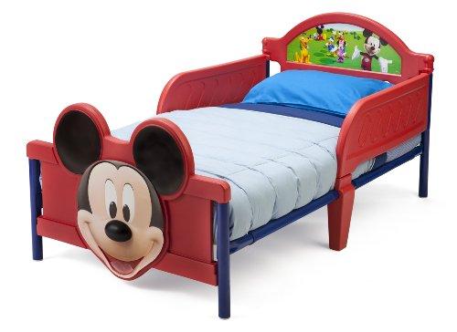 Delta Mickey Mouse Kleinkindbett (Rot) - 2