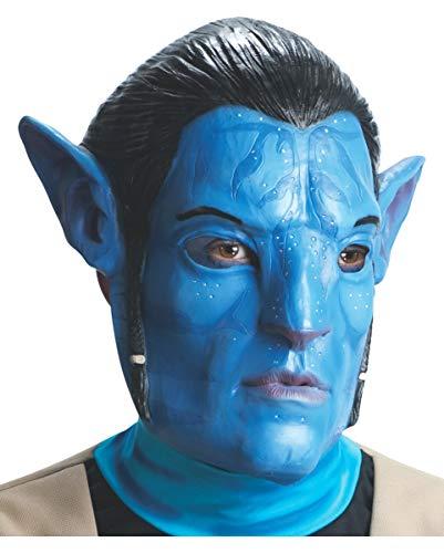 Horror-Shop Avatar Jake Sully Maske (Erwachsene Maske Sully)