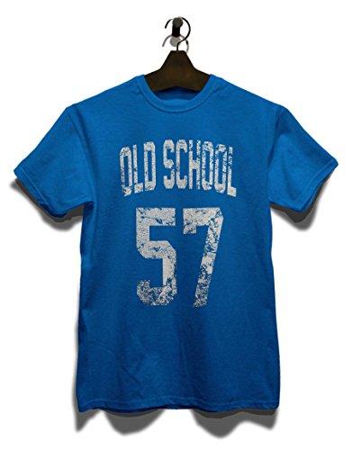 Oldschool 1957 T-Shirt Royal Blau