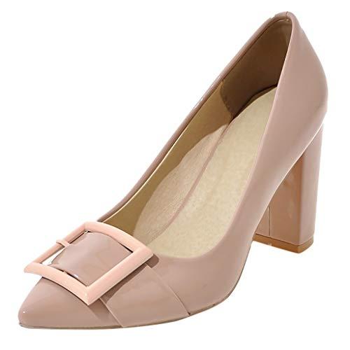 LILIHOT Strand Sandalen Frauen Quadrat High Heel wies Feste Dicke Arbeitsschuhe Sandalen Freizeitschuhe Elegant Knöchelriemen Sandaletten Sommer High Heels Schuhe (Jelly-damen-uhr)