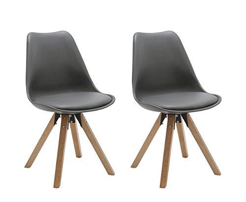 Comparativa de sillas comedor polipiel gris: mejores ofertas ...