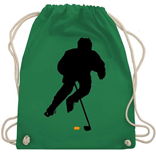 Eishockey - Eishockey Spieler - Unisize - Grün - WM110 - Turnbeutel & Gym Bag