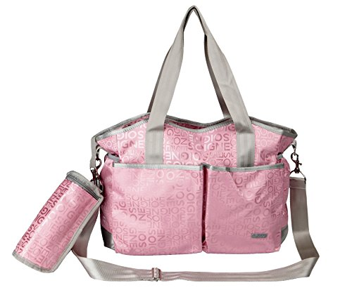 Yodo versátil bolso de maternidad, rosa