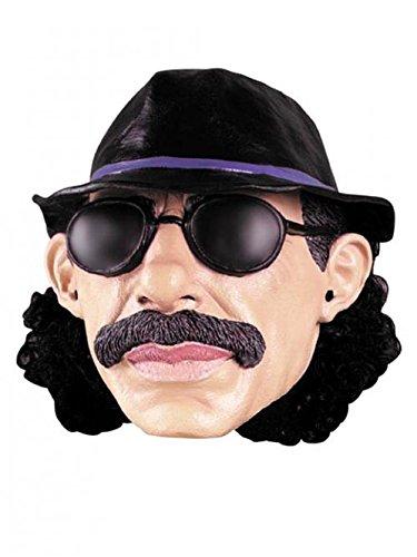 Latex Luden Maske Zuhälter Puffvater Strichpapi Kostüm Maske (Kostüm Maske Dieb)