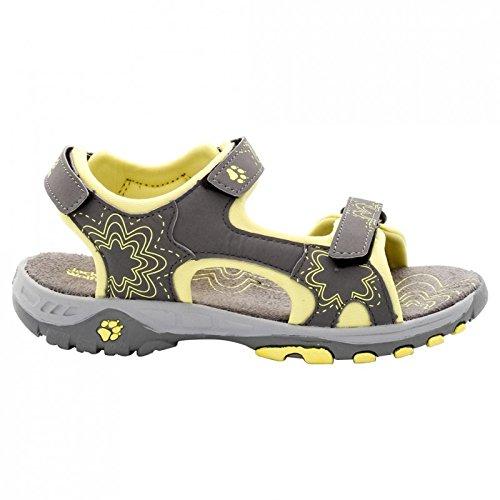 Jack Wolfskin Sunflower Sandal Girls jaune
