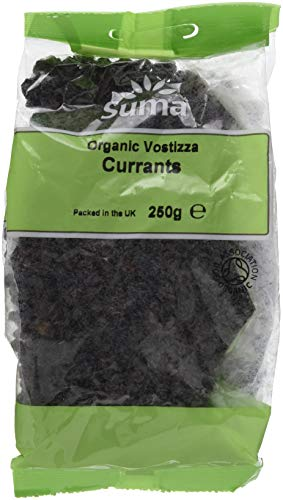 Suma Organic Currants 250 g (Pack of 6)