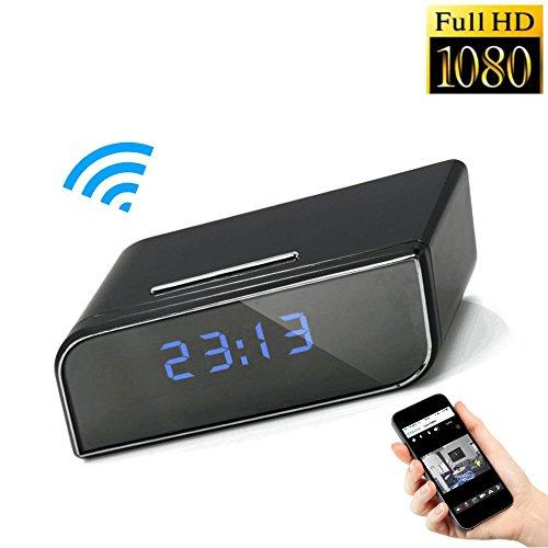 MUXAN Cámara de Reloj Despertador WiFi