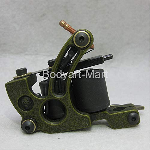 Top Shader Liner Tattoo Maschine 10 Verpackungs-Spulen-Grün-Tätowierung-Gewehr für Anfänger