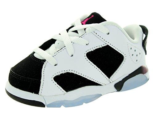 Nike Jordan Kleinkinder Jordan 6 Retro Low Gt Weiß/Fuchsia/Schwarz Sport Basketball Schuh 6 Kleinkinder UNS (Kinder Schuhe Fuchsia Kleinkind)