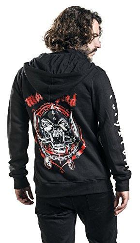 Motörhead Snaggletooth Kapuzenjacke schwarz Schwarz