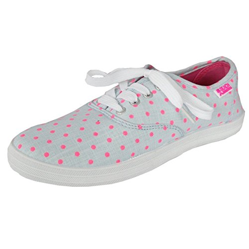 Beach Athletics - Espadrille donna Grey/Pink