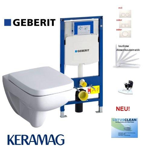 WC Sitz Softclose zu Wand WC Renova Nr.1 Plan 202150 202160 Lotusclean Beschicht