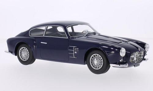 Maserati A6G 2000 Zagato, dunkelblau, 1956, Modellauto, Fertigmodell, BoS-Models 1:18 (Maserati Auto)