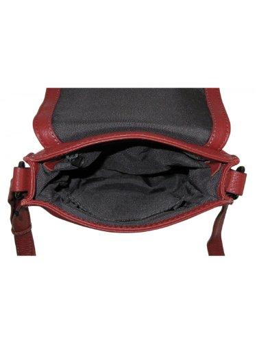 Gerry Weber Los Angeles II Flap Bag S 08/90/02014, Damen Umhängetaschen 19x20x4 cm (B x H x T) Rot (red 150)