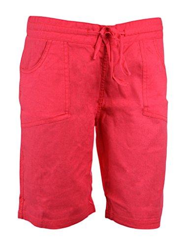 imtd Mesdames Été en lin pour femme vacances plage Porter Poche doux couleur lin pour homme 12–18 Rose - Rose