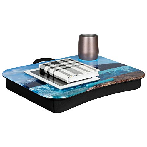 LapGear Cup Holder Lap Desk - Patagonian (Fits Up to 17