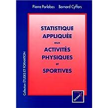 Statistique appliquée aux activités physiques et sportives