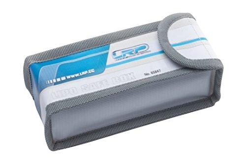 LRP 65847 Azul, Gris, Color Blanco Estuche para Medios de Almacenamiento - Funda (150 mm, 60 mm, 50 mm, Azul, Gris, Color Blanco)