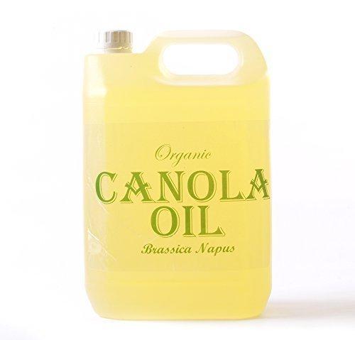 Mystic Moments | Aceite portador orgánico de canola (semilla de viola) - 5 litros - 100% puro