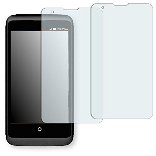 2 x Golebo Displayschutzfolie für ZTE Open C Displayschutz Schutzfolie Folie