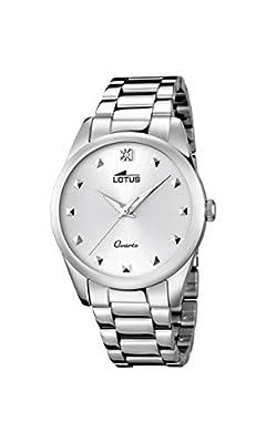 Lotus 18142/1 - Reloj de pulsera Mujer, Acero inoxidable, color Plateado
