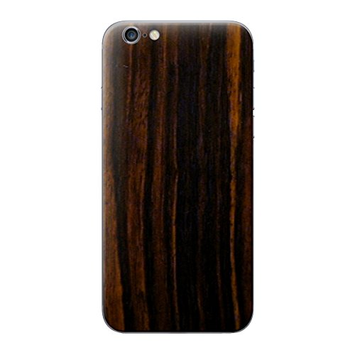 Cruzerlite Wood Skin for the Apple iPhone 6 Plus - Retail Packaging - Walnut (Back Only) Ebony