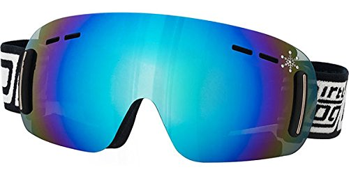 ladies ski goggles sfjb  9416996541013 Ladies Ski Goggles: Frameless Dirty Dog 'FLIP' Ski/Snowboard  Goggles