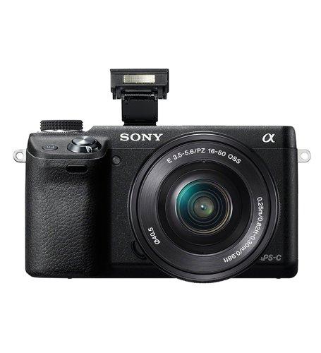 SONY NEX-6 WI-FI FOTOCAMERA BLACK COMPATTA OTTICHE INTERCAMBIABILI MIRRORLESS 16.1 MegaPixels Video FULLHD 1080 SOLO CORPO